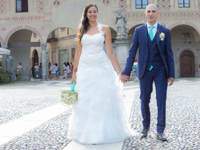 Il matrimonio di Luca e Elisabetta a Vigevano, Pavia 8