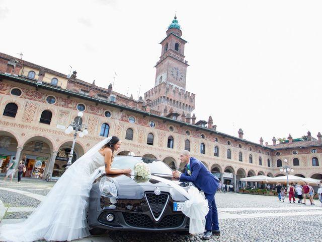 Il matrimonio di Luca e Elisabetta a Vigevano, Pavia 12
