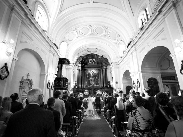 Il matrimonio di Nicola e Rosa a Sorrento, Napoli 25
