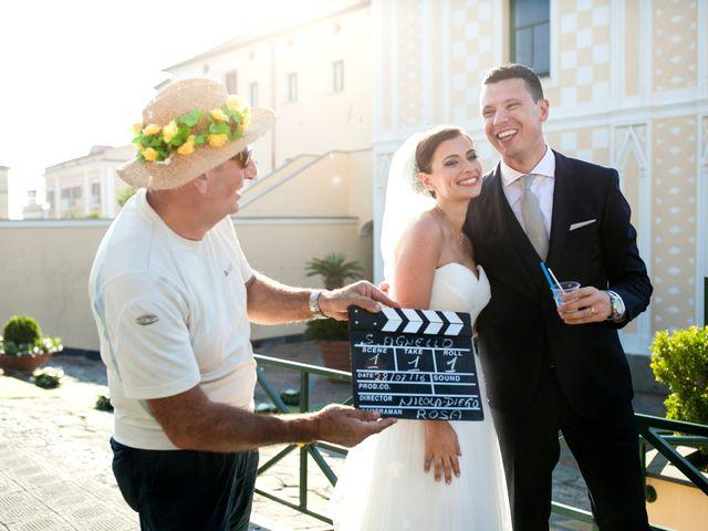 Il matrimonio di Nicola e Rosa a Sorrento, Napoli 32