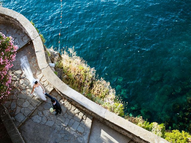 Il matrimonio di Nicola e Rosa a Sorrento, Napoli 36