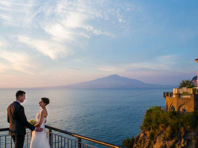 Il matrimonio di Nicola e Rosa a Sorrento, Napoli 41