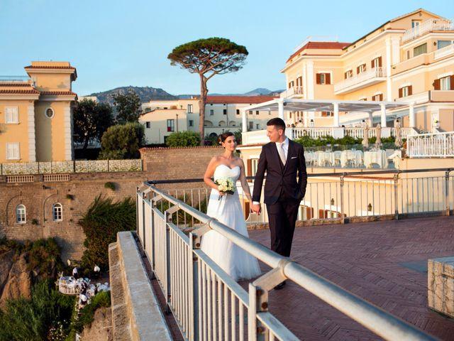 Il matrimonio di Nicola e Rosa a Sorrento, Napoli 42