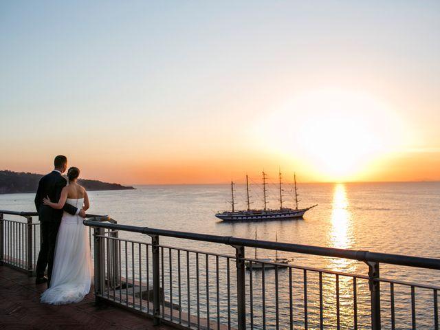 Il matrimonio di Nicola e Rosa a Sorrento, Napoli 43