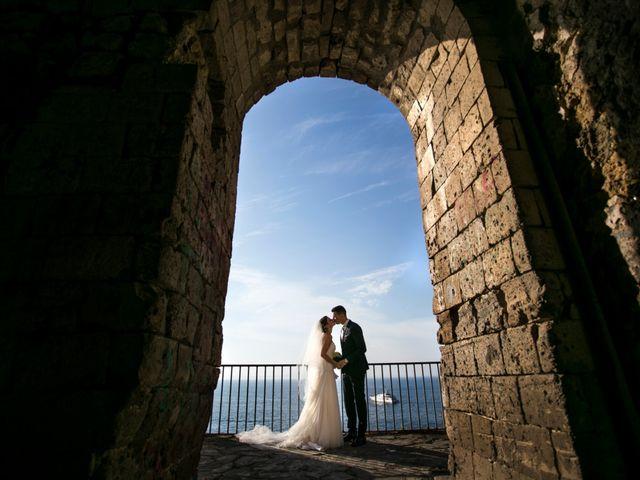 Il matrimonio di Nicola e Rosa a Sorrento, Napoli 45