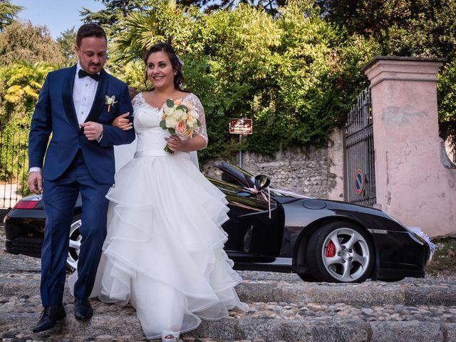 Il matrimonio di Stefano e Claudia a Besozzo, Varese 28