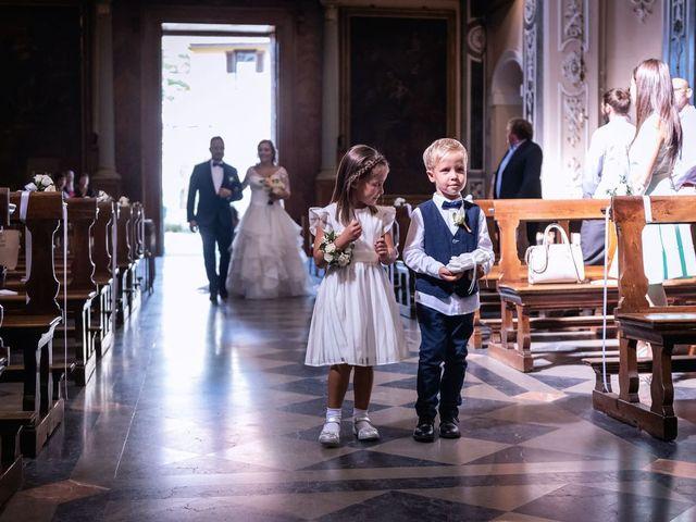 Il matrimonio di Stefano e Claudia a Besozzo, Varese 29