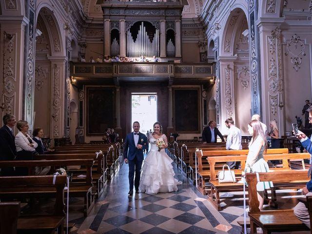 Il matrimonio di Stefano e Claudia a Besozzo, Varese 30