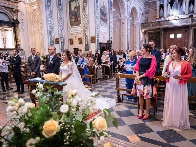 Il matrimonio di Stefano e Claudia a Besozzo, Varese 31