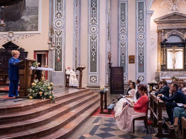 Il matrimonio di Stefano e Claudia a Besozzo, Varese 34