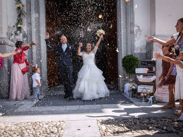 Il matrimonio di Stefano e Claudia a Besozzo, Varese 51