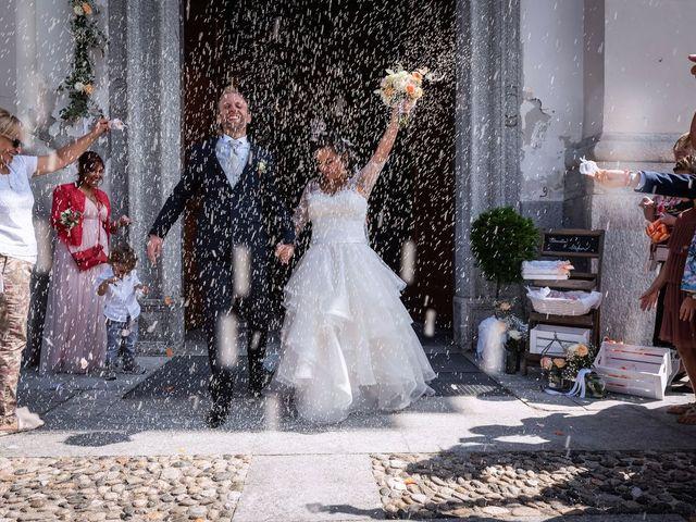 Il matrimonio di Stefano e Claudia a Besozzo, Varese 52