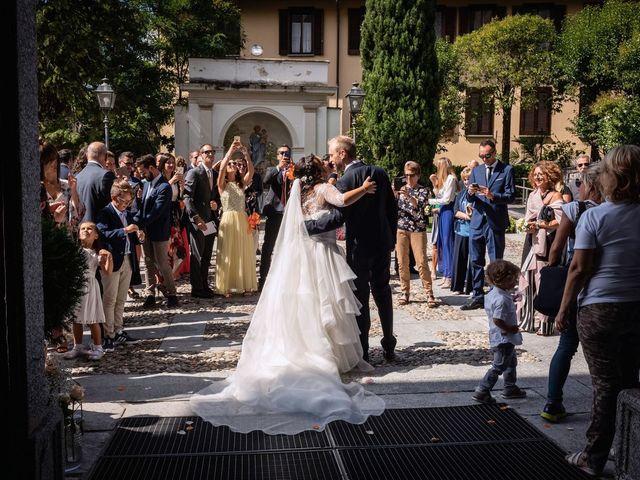 Il matrimonio di Stefano e Claudia a Besozzo, Varese 53