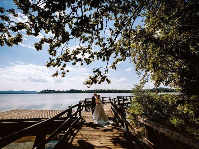 Il matrimonio di Stefano e Claudia a Besozzo, Varese 56