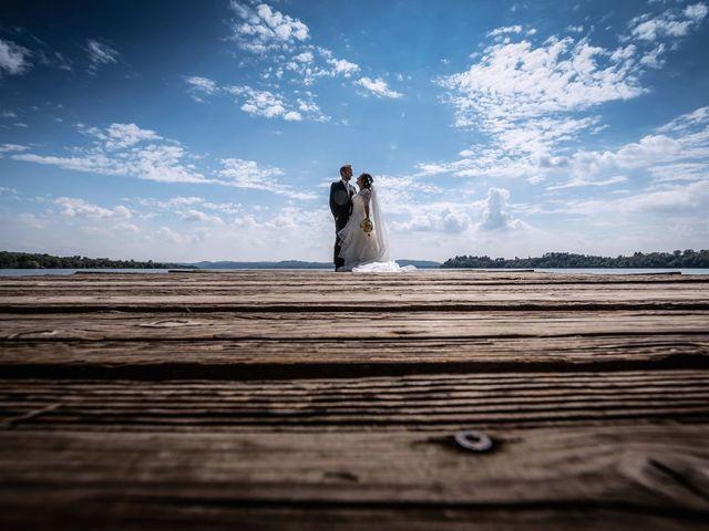 Il matrimonio di Stefano e Claudia a Besozzo, Varese 1