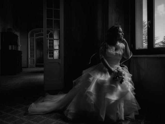 Il matrimonio di Stefano e Claudia a Besozzo, Varese 61