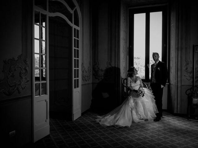 Il matrimonio di Stefano e Claudia a Besozzo, Varese 62