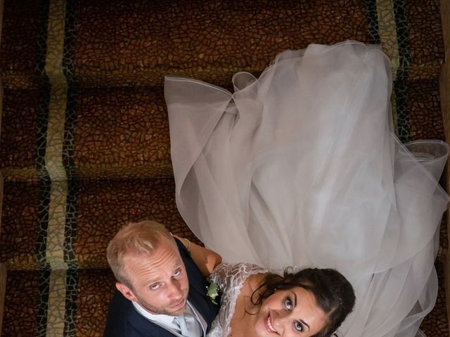 Il matrimonio di Stefano e Claudia a Besozzo, Varese 63