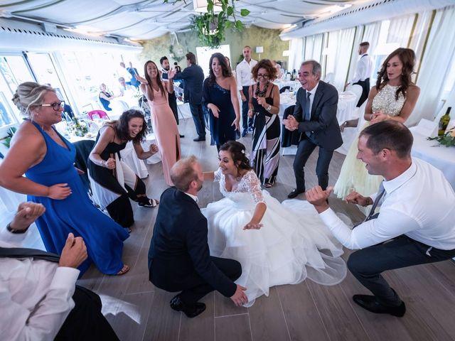 Il matrimonio di Stefano e Claudia a Besozzo, Varese 65