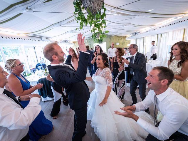 Il matrimonio di Stefano e Claudia a Besozzo, Varese 66