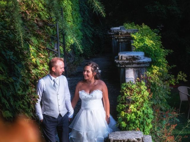 Il matrimonio di Stefano e Claudia a Besozzo, Varese 69