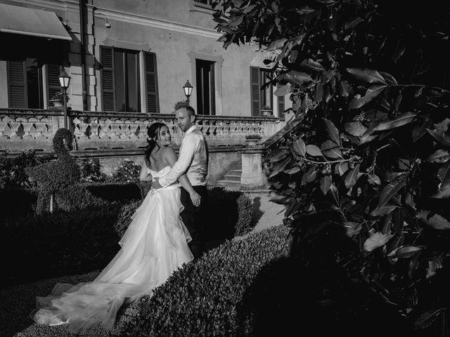 Il matrimonio di Stefano e Claudia a Besozzo, Varese 80