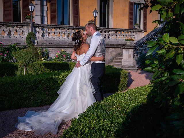 Il matrimonio di Stefano e Claudia a Besozzo, Varese 81