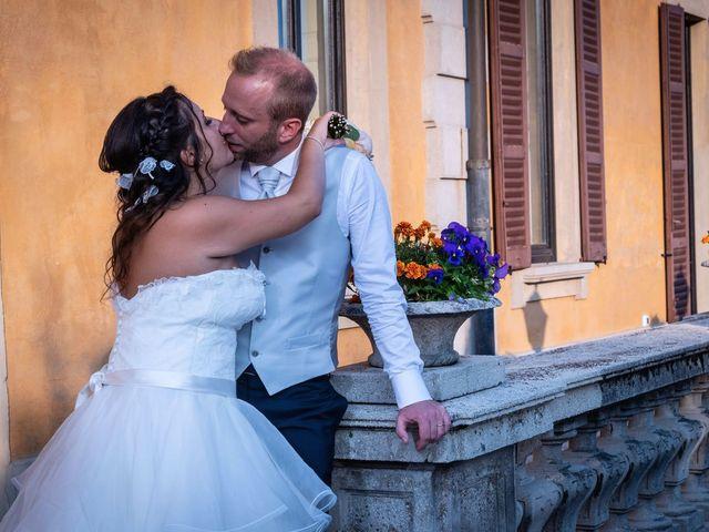 Il matrimonio di Stefano e Claudia a Besozzo, Varese 84