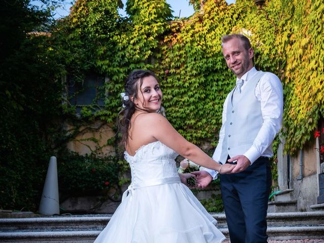 Il matrimonio di Stefano e Claudia a Besozzo, Varese 87