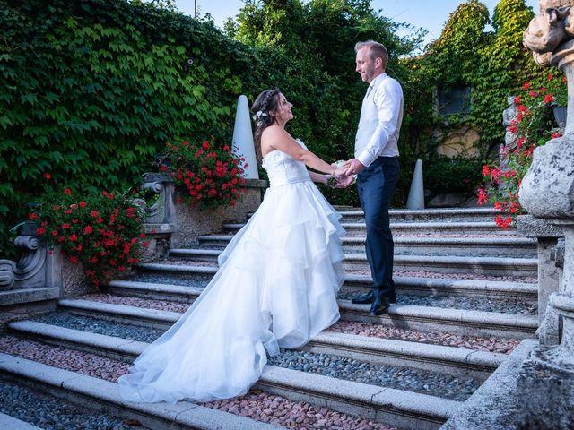 Il matrimonio di Stefano e Claudia a Besozzo, Varese 88