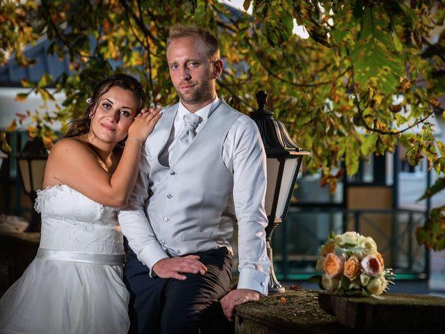 Il matrimonio di Stefano e Claudia a Besozzo, Varese 91