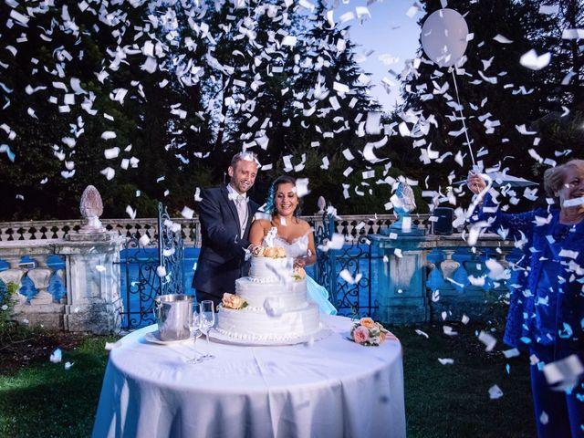 Il matrimonio di Stefano e Claudia a Besozzo, Varese 95