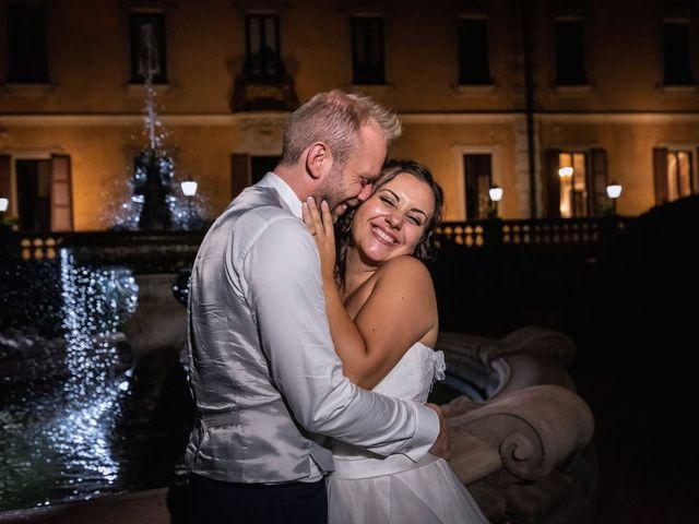 Il matrimonio di Stefano e Claudia a Besozzo, Varese 131