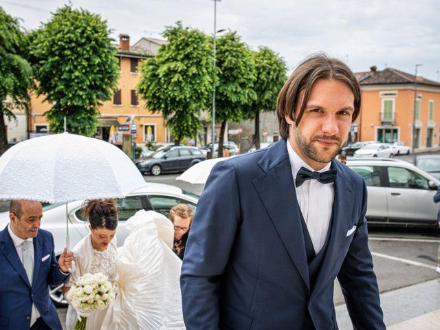 Il matrimonio di Emanuele e Erica a Leno, Brescia 26