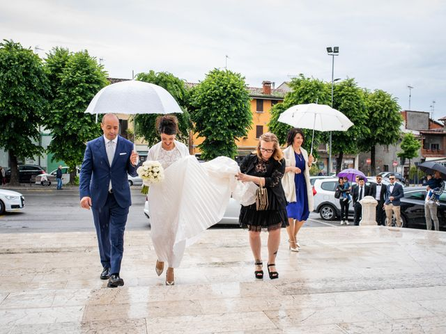 Il matrimonio di Emanuele e Erica a Leno, Brescia 27