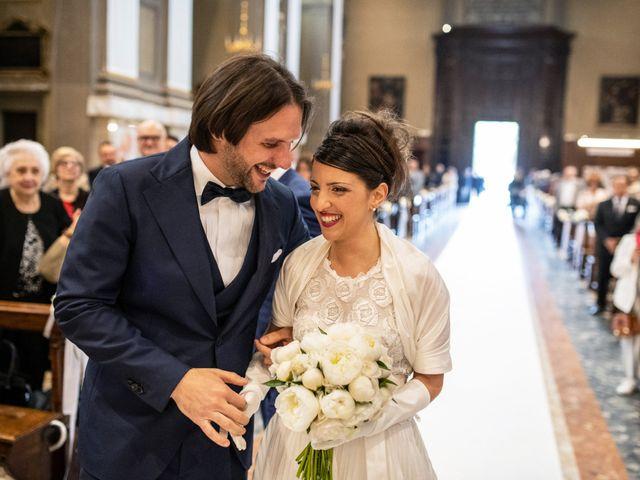 Il matrimonio di Emanuele e Erica a Leno, Brescia 28