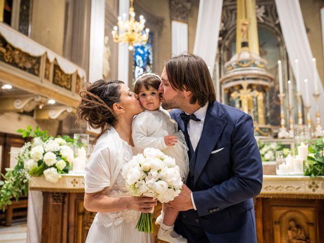 Il matrimonio di Emanuele e Erica a Leno, Brescia 33