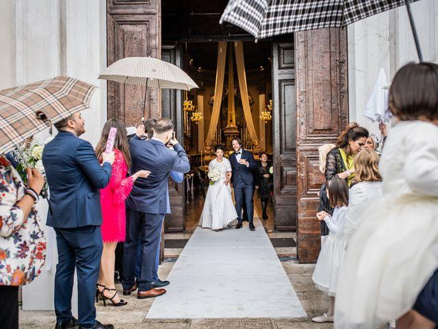 Il matrimonio di Emanuele e Erica a Leno, Brescia 34