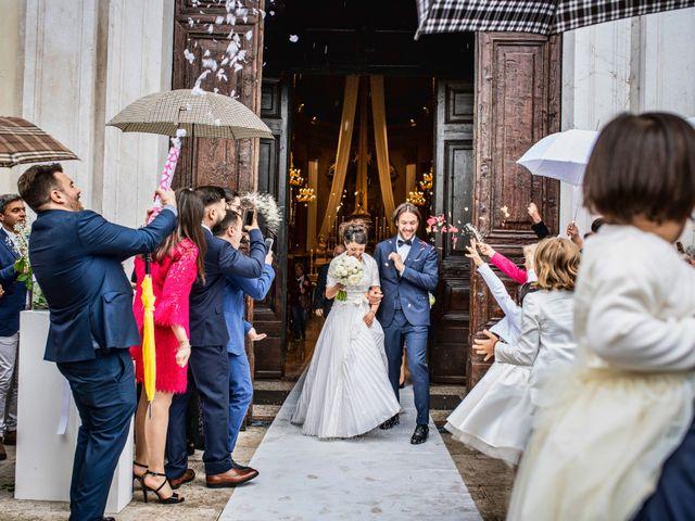 Il matrimonio di Emanuele e Erica a Leno, Brescia 36