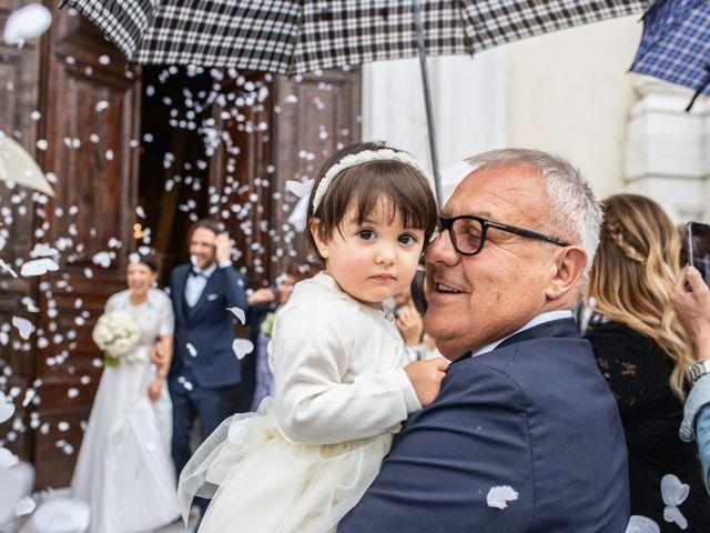 Il matrimonio di Emanuele e Erica a Leno, Brescia 37