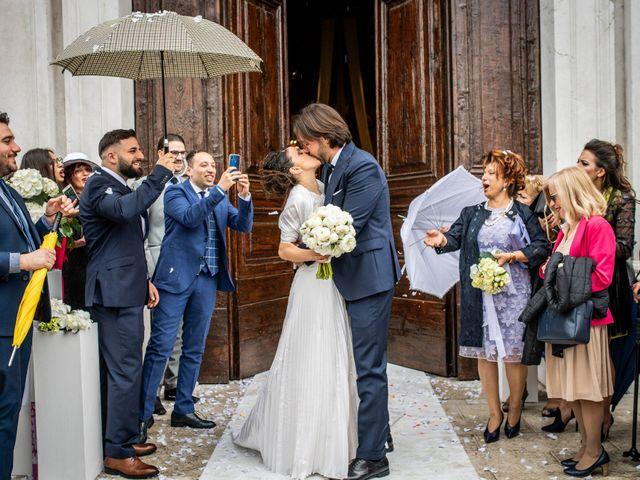 Il matrimonio di Emanuele e Erica a Leno, Brescia 38