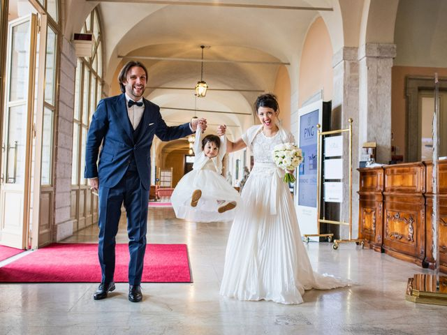 Il matrimonio di Emanuele e Erica a Leno, Brescia 44
