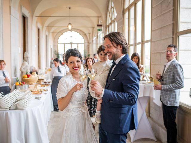 Il matrimonio di Emanuele e Erica a Leno, Brescia 48