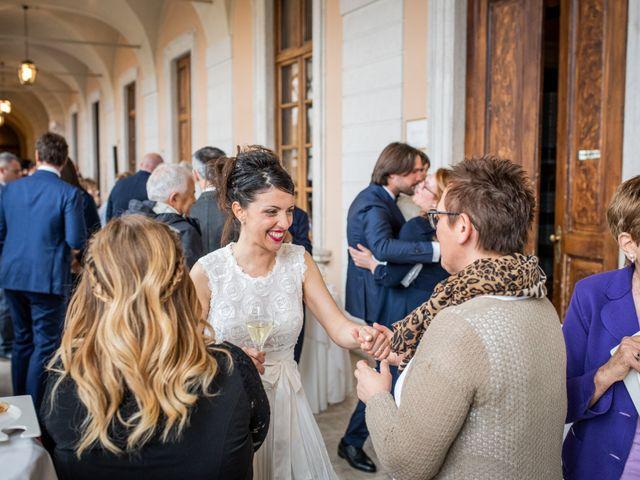 Il matrimonio di Emanuele e Erica a Leno, Brescia 49