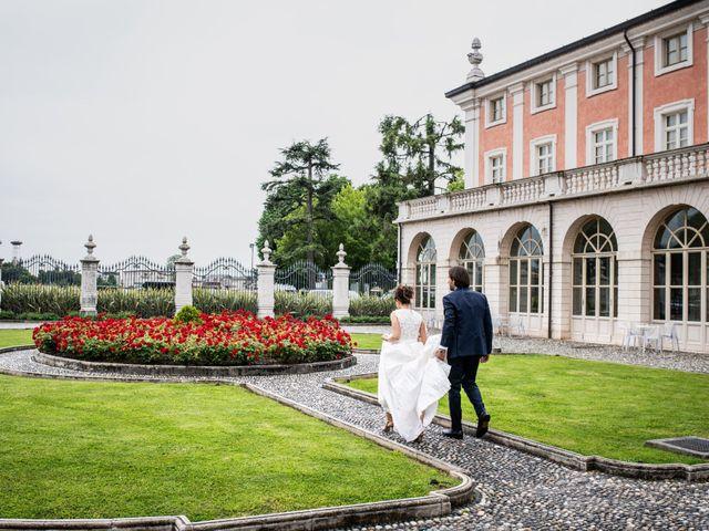 Il matrimonio di Emanuele e Erica a Leno, Brescia 59
