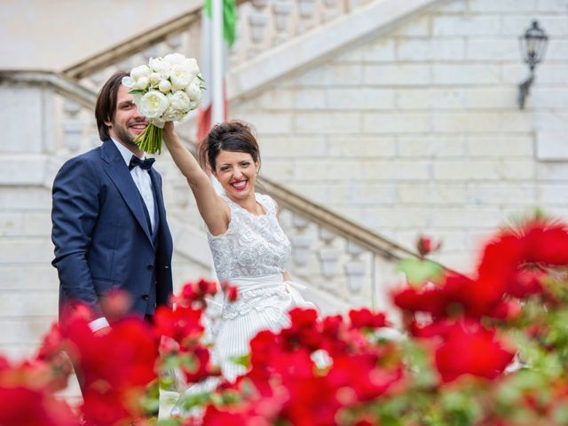 Il matrimonio di Emanuele e Erica a Leno, Brescia 61
