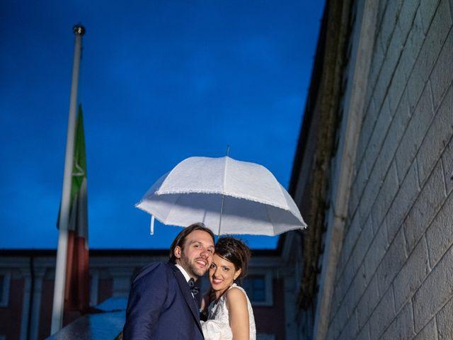 Il matrimonio di Emanuele e Erica a Leno, Brescia 74