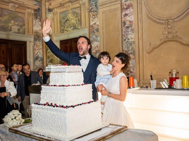 Il matrimonio di Emanuele e Erica a Leno, Brescia 76