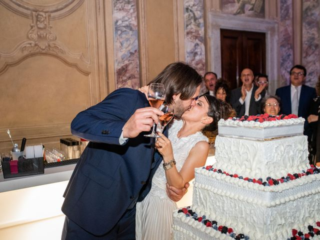 Il matrimonio di Emanuele e Erica a Leno, Brescia 79