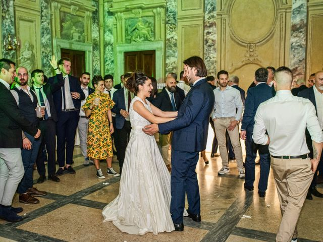 Il matrimonio di Emanuele e Erica a Leno, Brescia 81